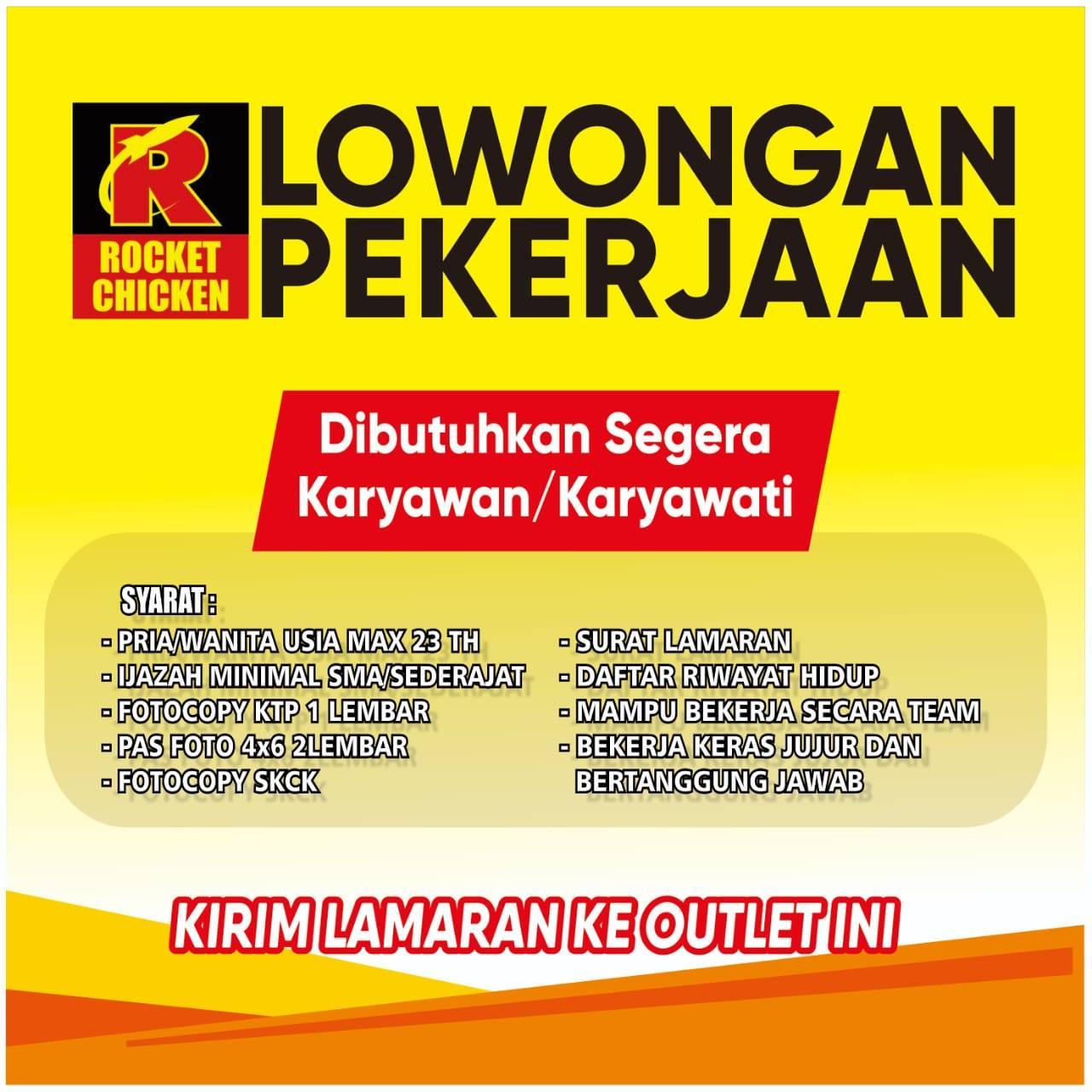 Rocket Chicken Cabang Krian 1 Alamat Jl Kyai Mojo No 202 Bakalan Katrungan Portal Berita Sidoarjo