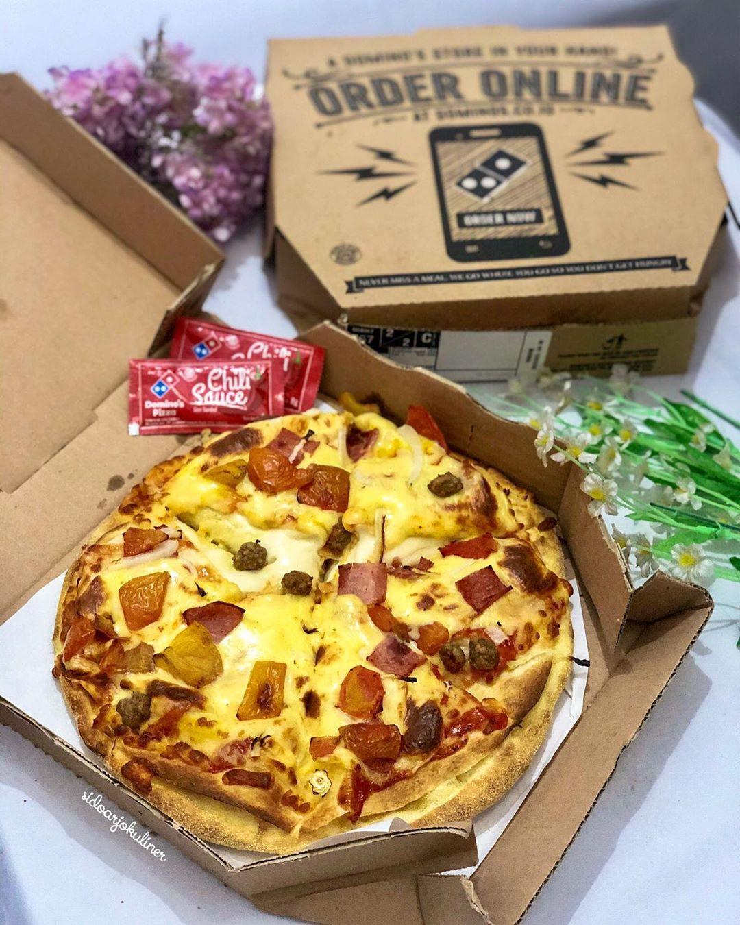 Diskon 50 Domino S Pizza Premium Promo Khusus Opening Cabang Larangan Sampai 6 Maret 2020 Wa Portal Berita Sidoarjo