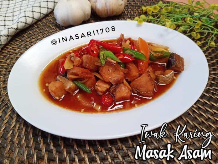 Reposted from @inasari1708 . IWAK KARING MASAK ASAM Made By : @inasari1708 Bah...
