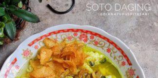 •Soto Daging• . By @dianayupuspitasari . Bahan : 1/2 kg daging sapi, saya c...