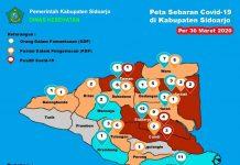 Halo #WargaSidoarjo , Update terbaru peta per...