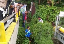 Pelajar Nekat Buang Bayi Hidup-hidup ke Bawah Jembatan Watutulis