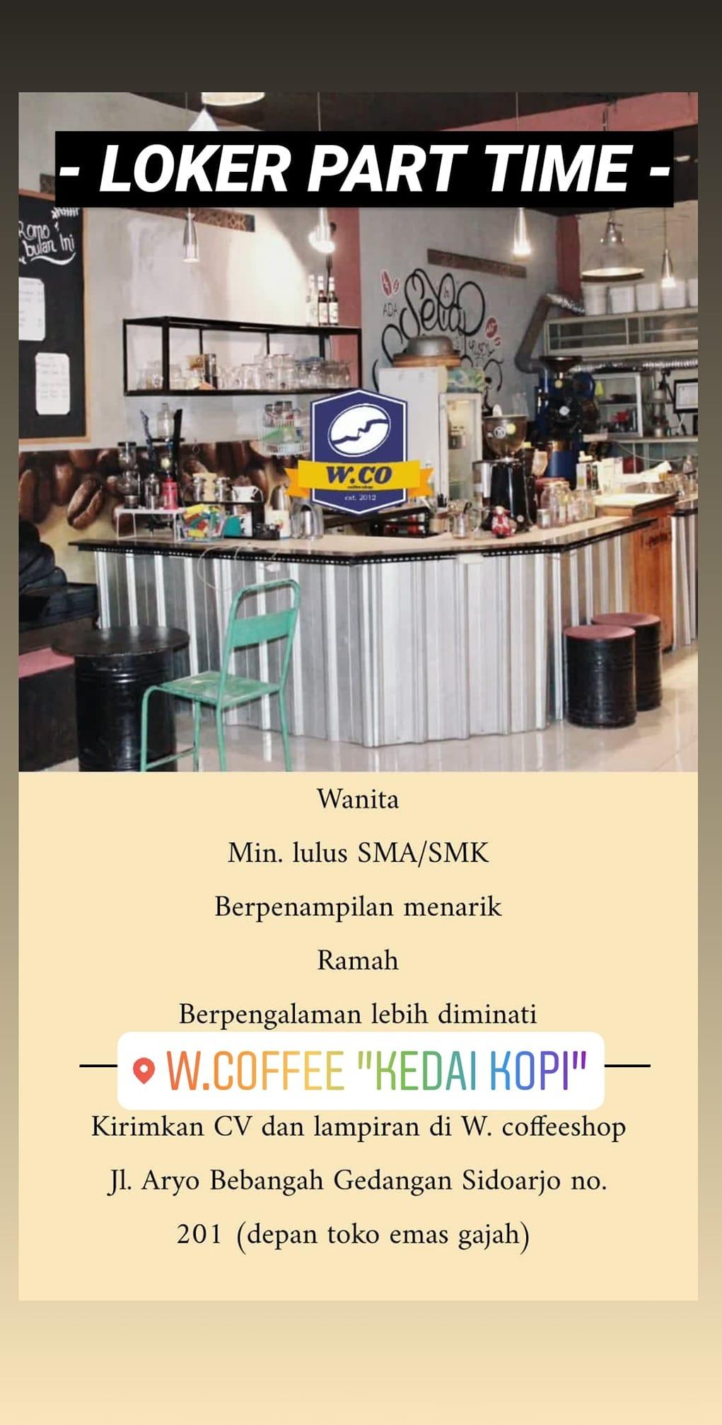 Loker Part Time Surabaya 2021